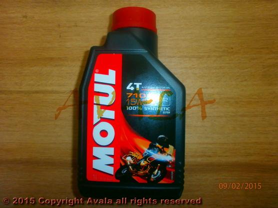 Ulje za četvorotaktne motore Motul 7100 15W50 1/1 *0902884*