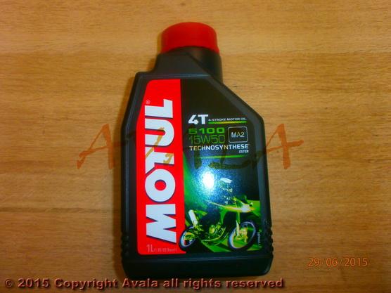 Ulje za četvorotaktne motore Motul 5100 4T 15W50 1/1 *0902954*
