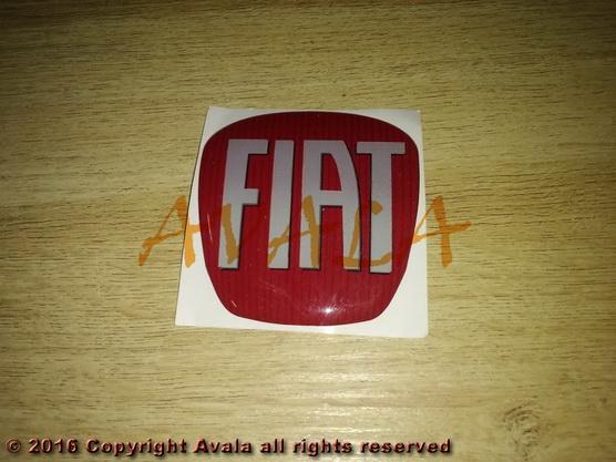 """Stiker 65x69mm """"FIAT"""" *0903221*"""