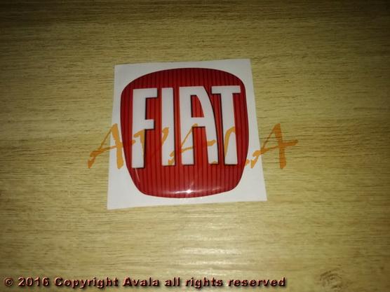 """Stiker 63x70mm """"FIAT"""" *0903222*"""