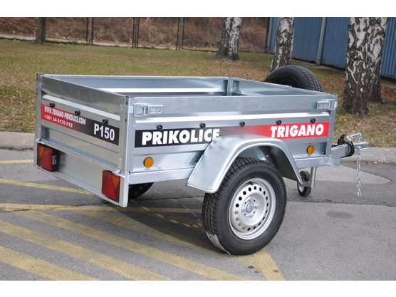 Auto-prikolica TP P150 (pocinkovane stranice) *0903257*