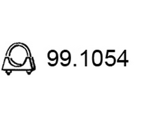 Šelna auspuha 54mm *0903541*