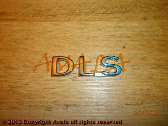"""Auto oznaka """"DLS"""" *1404059*"""