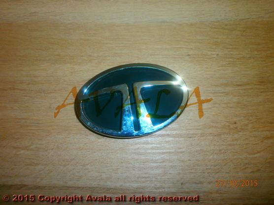 "Auto oznaka ""T"" na prednjoj maski novi tip (od 2004. do 2007.) *1404196*"