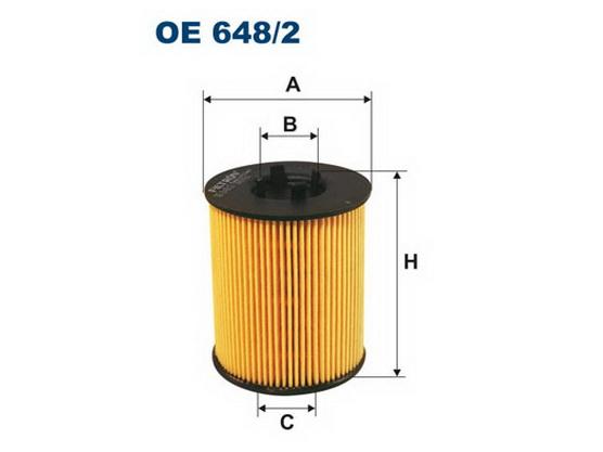 Filter ulja *1601154*