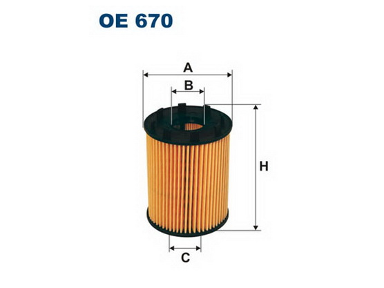 Filter ulja (sistem PURFLUX) *1601185*