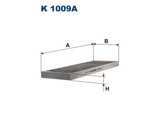 Filter kabine (klime - unutrašnjeg prostora) *1604342*