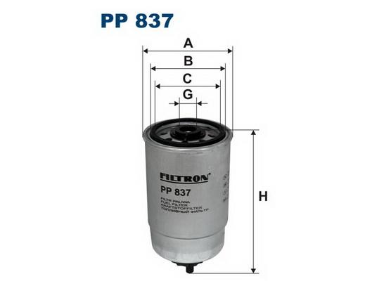 Filter goriva *1701148*