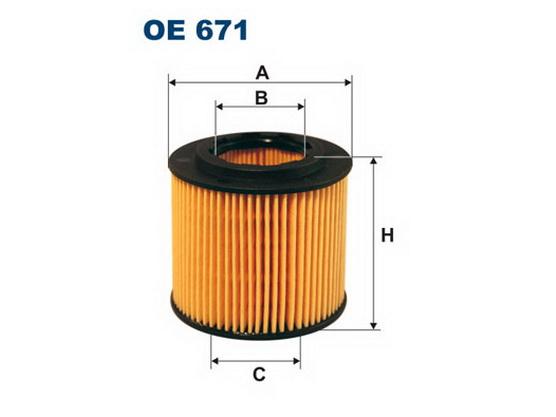 Filter ulja *1701173*