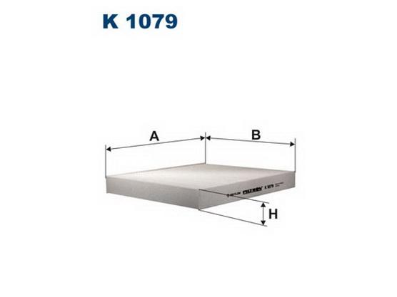 Filter kabine (klime - unutrašnjeg prostora) *1704227*