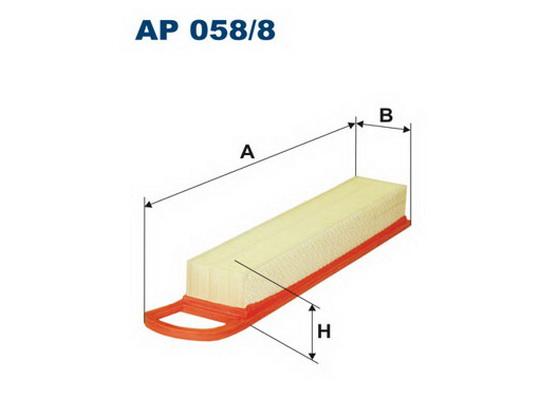 Air filter *1904083*