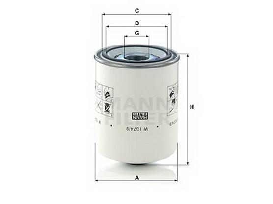 Filter hidraulike *2104035*