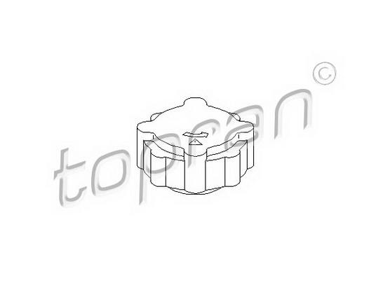 Čep posude hladnjaka *2404030*