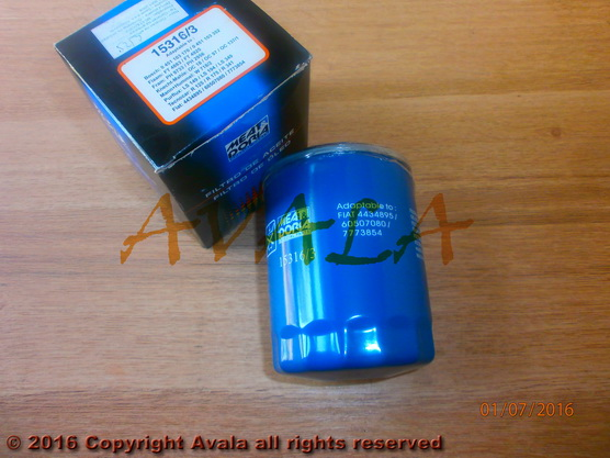 Filter ulja *2501116*