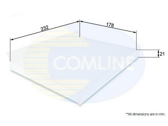 Filter kabine (klime - unutrašnjeg prostora) *2504132*