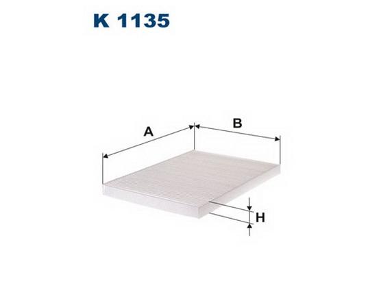 Filter kabine (klime - unutrašnjeg prostora) *2504281*