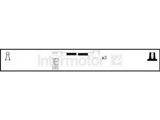 Kablovi za svećice silikonski *3201005*