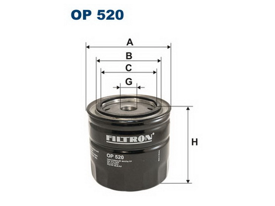 Filter ulja *3301025*