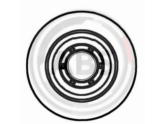 Disk točka zadnji *3304062*