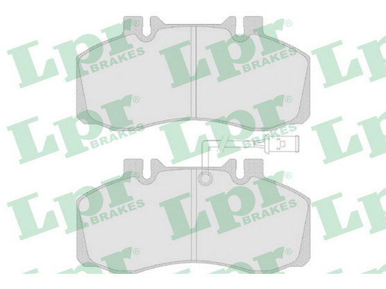 Brake pad set front, disc brake *3604032*