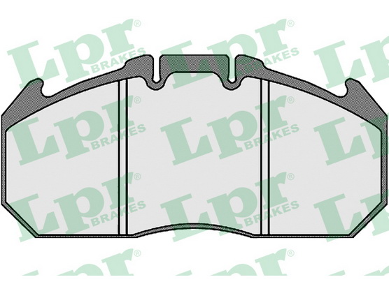 Brake pad set, disc brake *3604034*