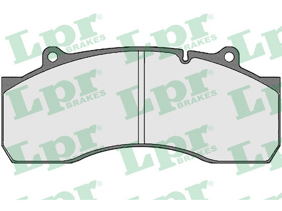 Brake pad set, disc brake *3604035*