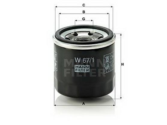 Filter ulja *4001042*