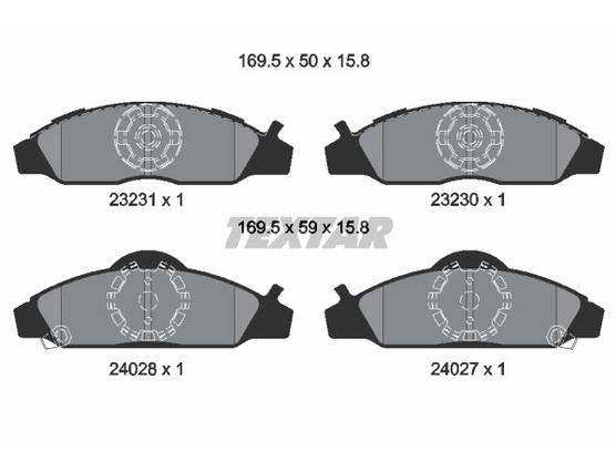 Disk pločice prednje *6804052*